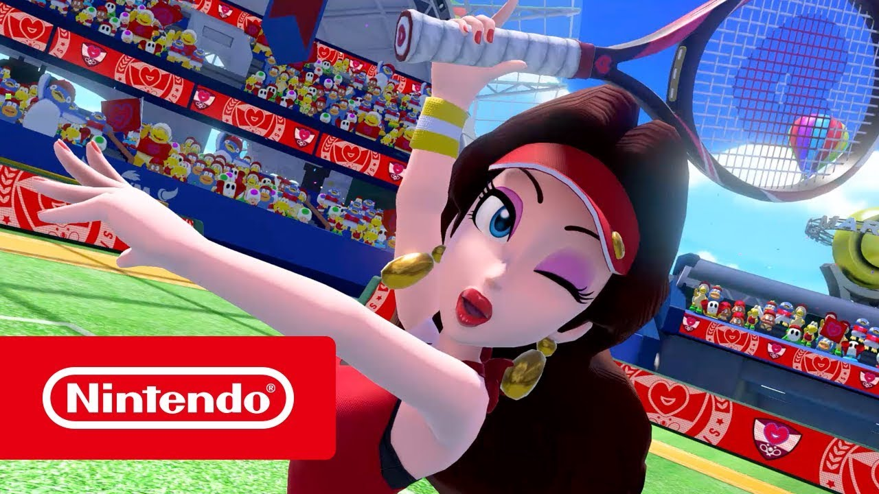5fe1ad9af63e7 Mario Tennis Aces Receives Three New Characters in Q1 2019