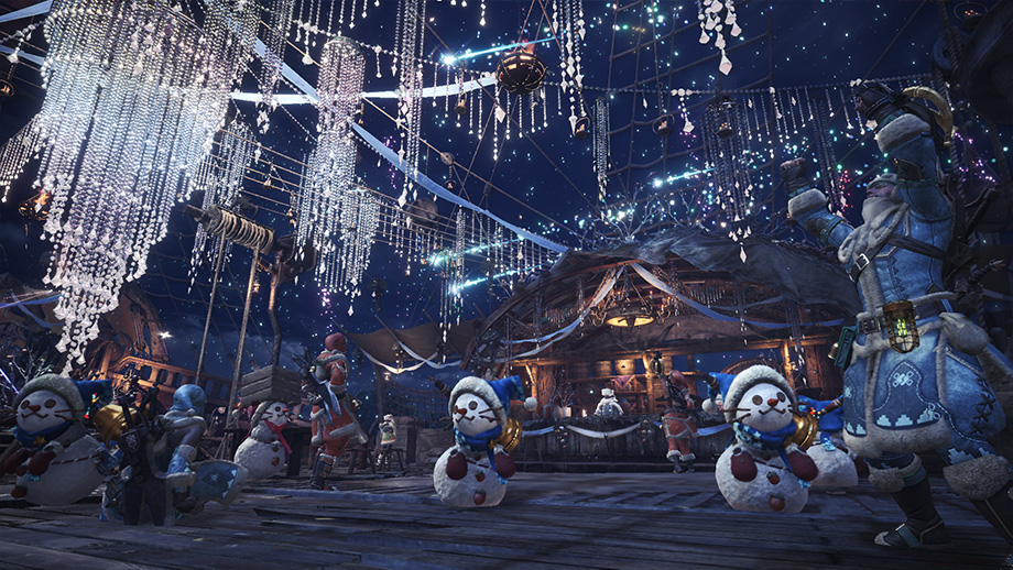 Monster Hunter World - Winter Star Fest