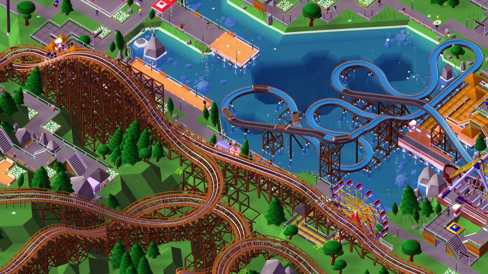 Rollercoaster Tycoon-Style Game Parkitect Leaves Early Access This Month