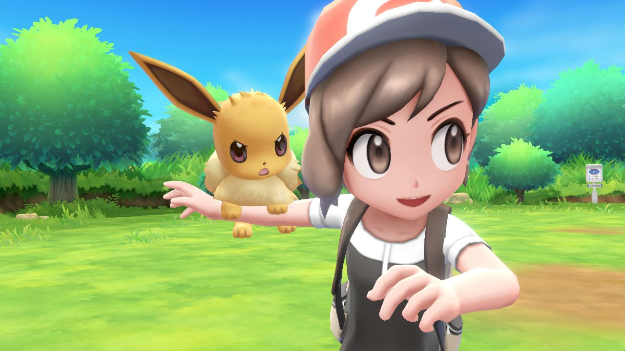 Pokemon Let's Go Pikachu, Let's Go Eevee