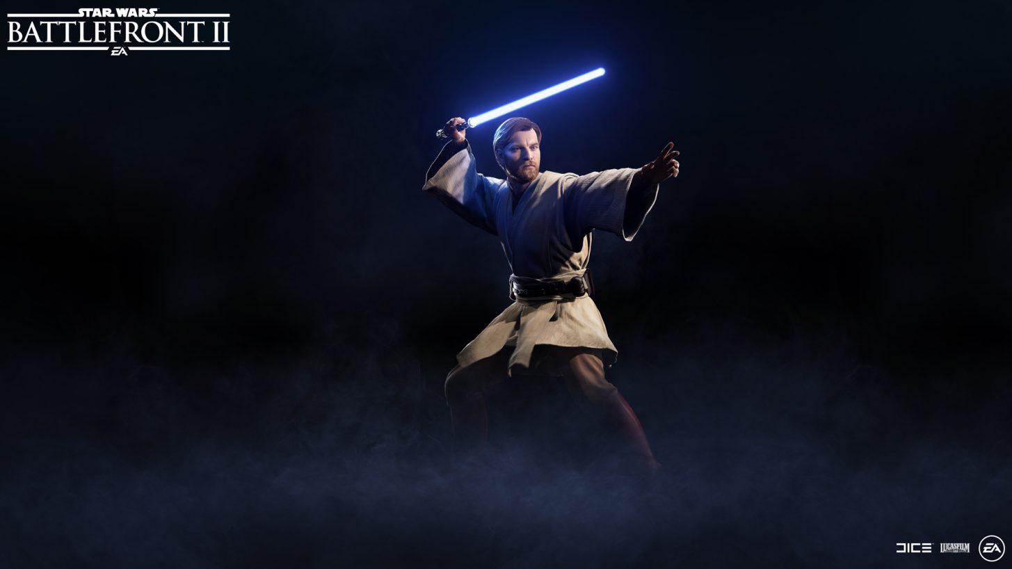 Star Wars Battlefront 2 - Obi-Wan Kenobi