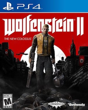 Wolfenstein 2: The New Colossus Box Art