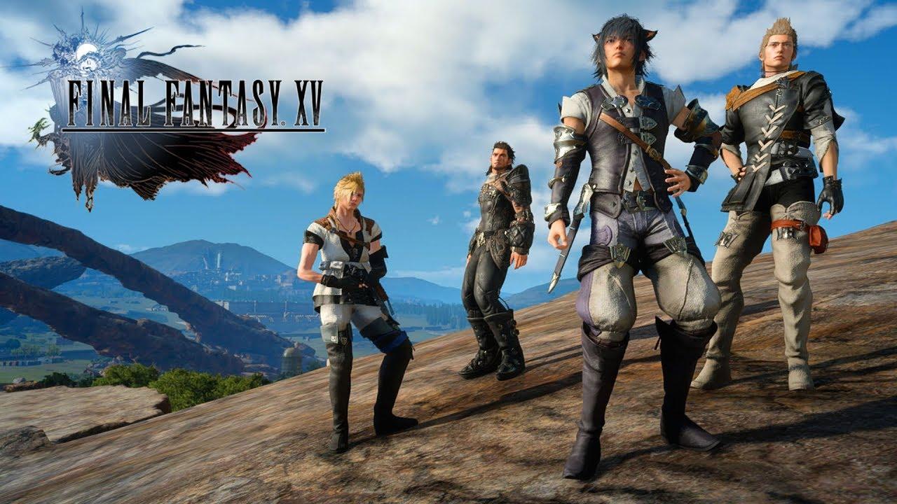 Final Fantasy 15 x Final Fantasy 14