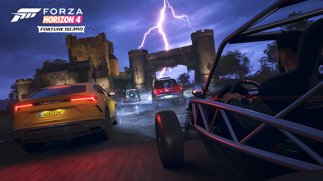 Forza Horizon 4: Fortune Island Review – Coming Down the