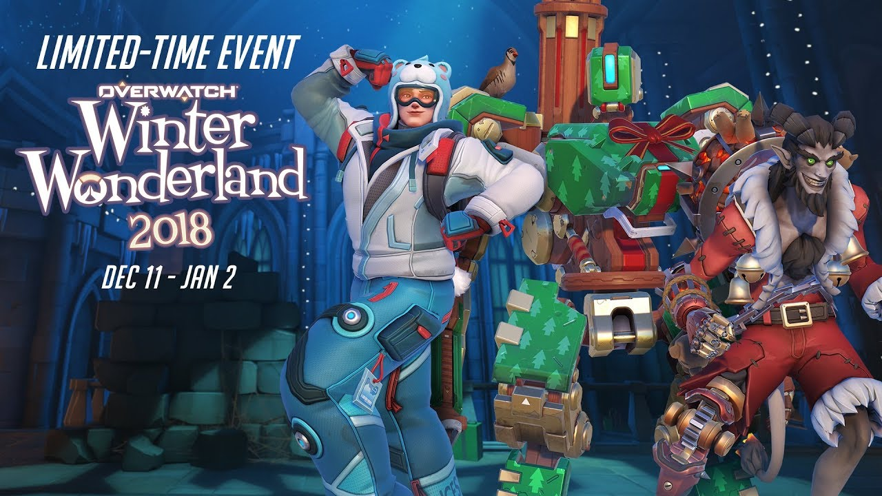 Overwatch Christmas 2020 Overwatch's Winter Wonderland Event is Now Live, New Cosmetics Added
