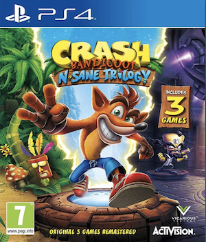 Crash Bandicoot N.Sane Trilogy Box Art