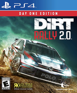 DiRT Rally 2.0 Box Art