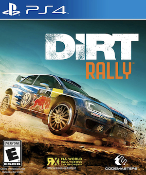 DiRT Rally Box Art