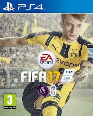 FIFA 17 Box Art