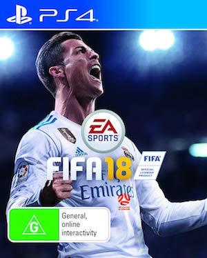 FIFA 18 Box Art