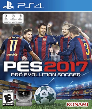 Pro Evolution Soccer 2017 Box Art