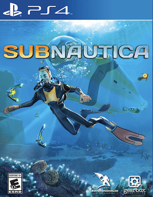 Subnautica Box Art
