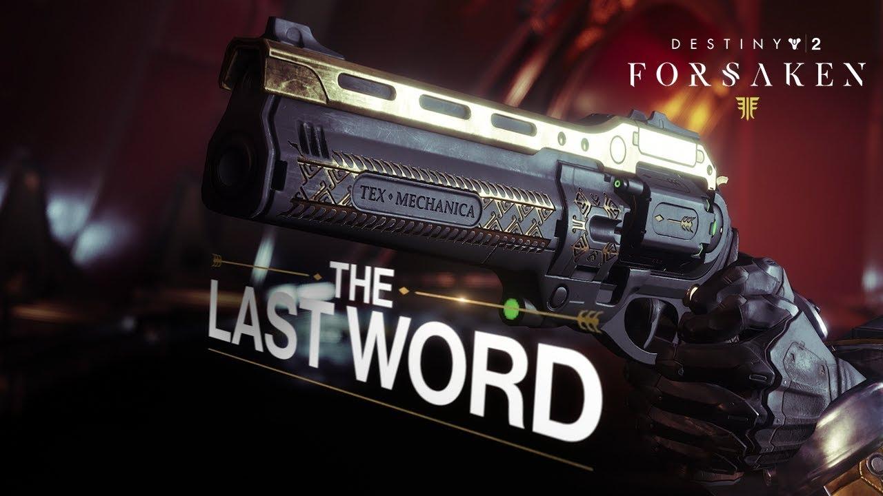 Destiny 2 The Last Word