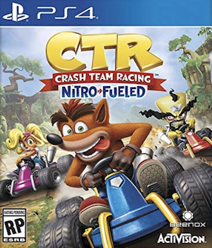 Crash Team Racing Nitro-Fueled Box Art
