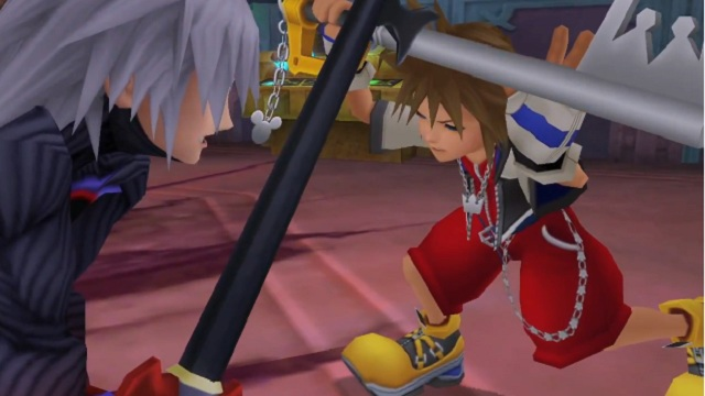 kingdom hearts sora riku