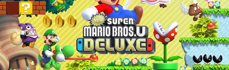 New Super Mario Bros U Deluxe Review What Is New Is Old Is New