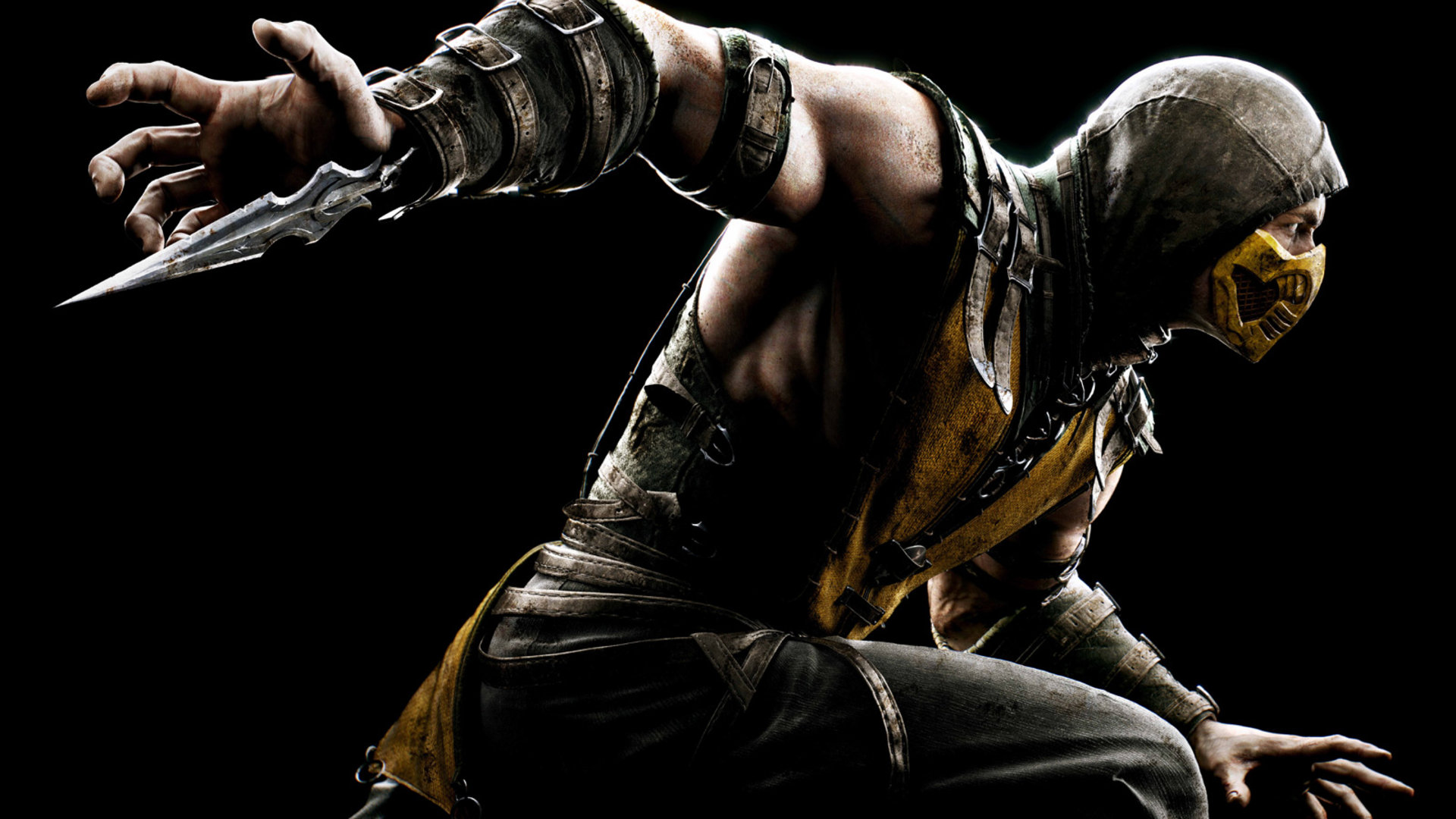 scorpion spear throw mortal kombat