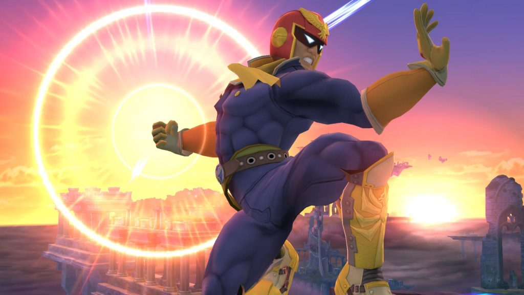 super smash bros falcon punch