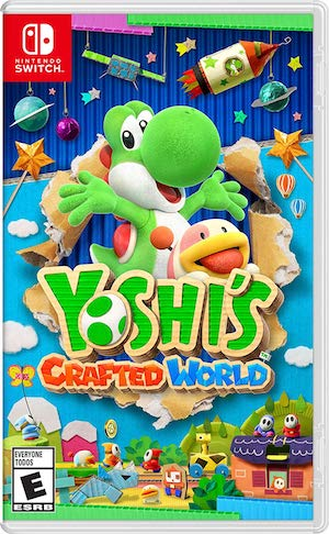 Yoshi's Crafted World Box Art