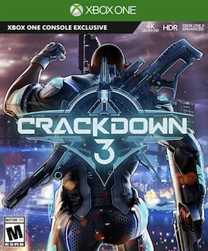 Crackdown 3 Box Art