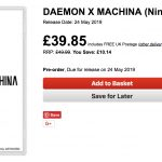 daemon x machina retailer listing