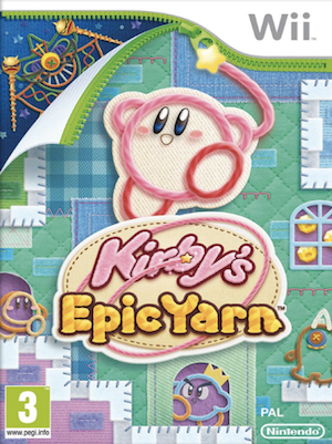 Kirby's Epic Yarn Box Art