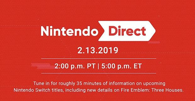 nintendo direct feb 13 2019