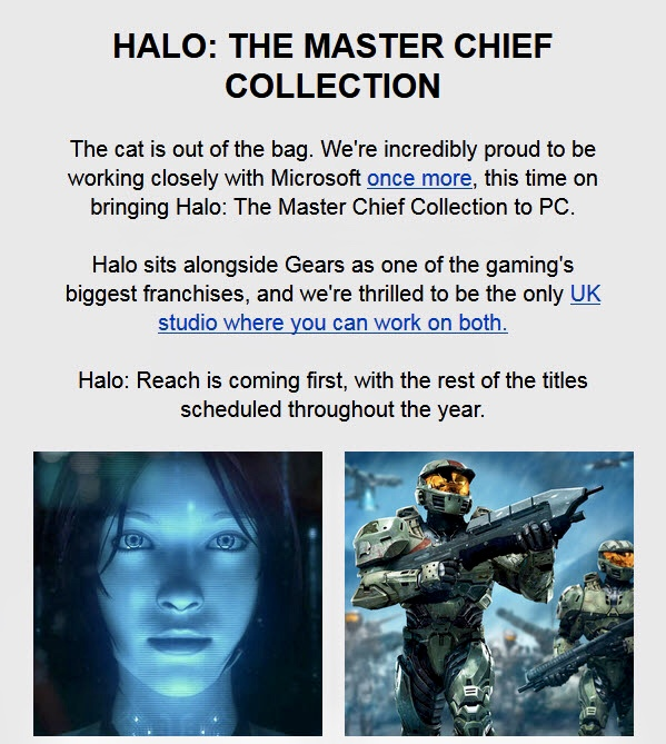 Halo MCC Newsletter
