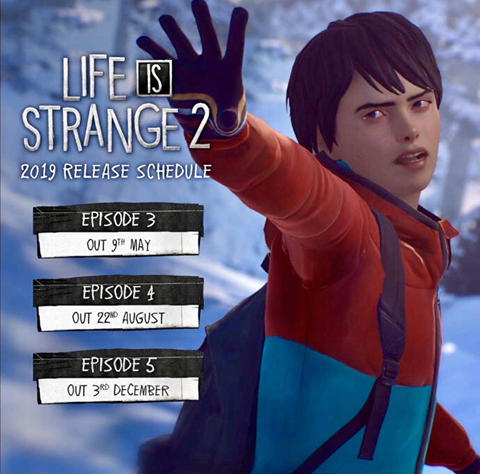 Life is Strange 2 Ep 3-5