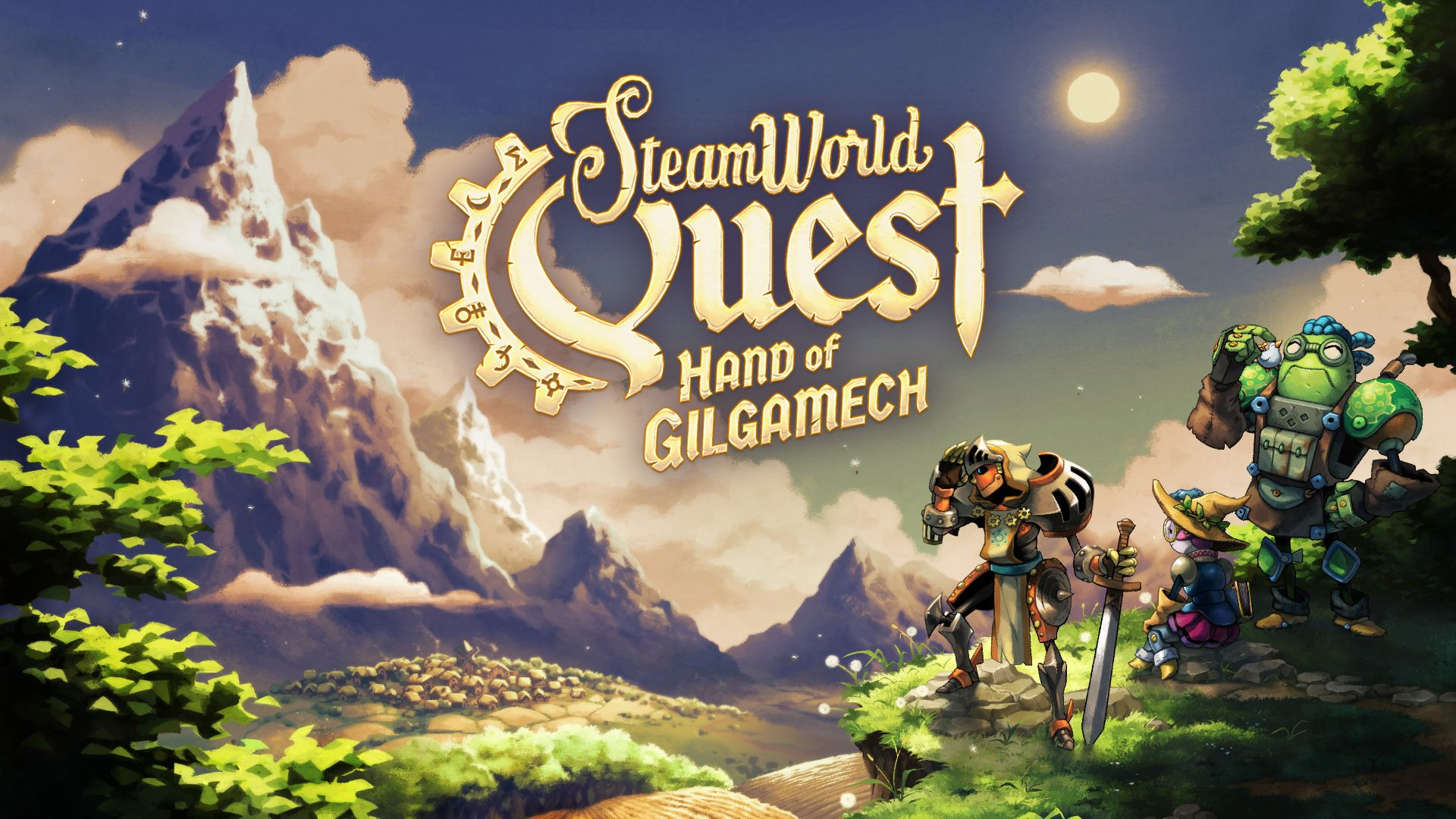 SteamWorld Quest - Hand of Gilgamech