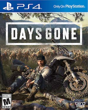 Days Gone Box Art