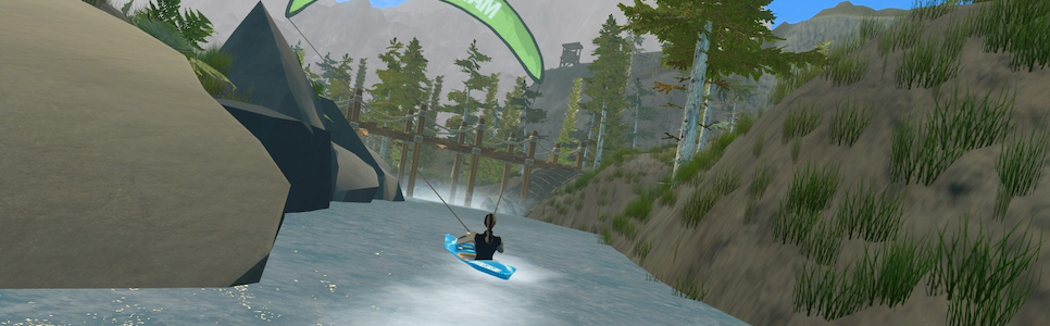 DownStream VR Whitewater Kayaking Interview – Motion