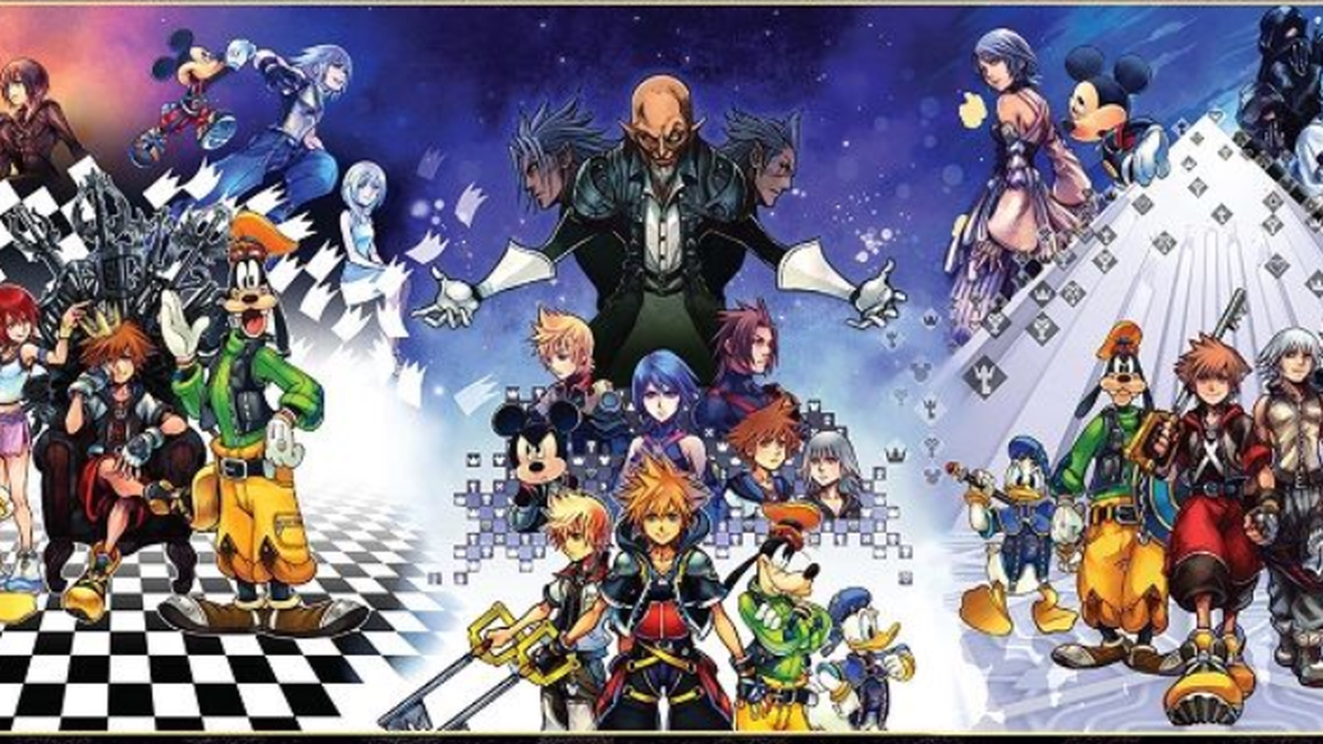 kingdom hearts story so far