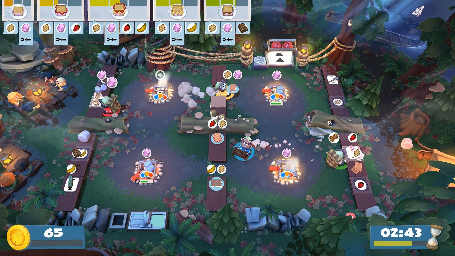 Overcooked 2 - Campfire Cook Off