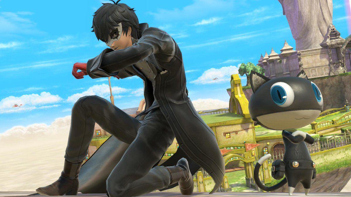 Persona 5's Joker Arrives in Super Smash Bros. Ultimate Today