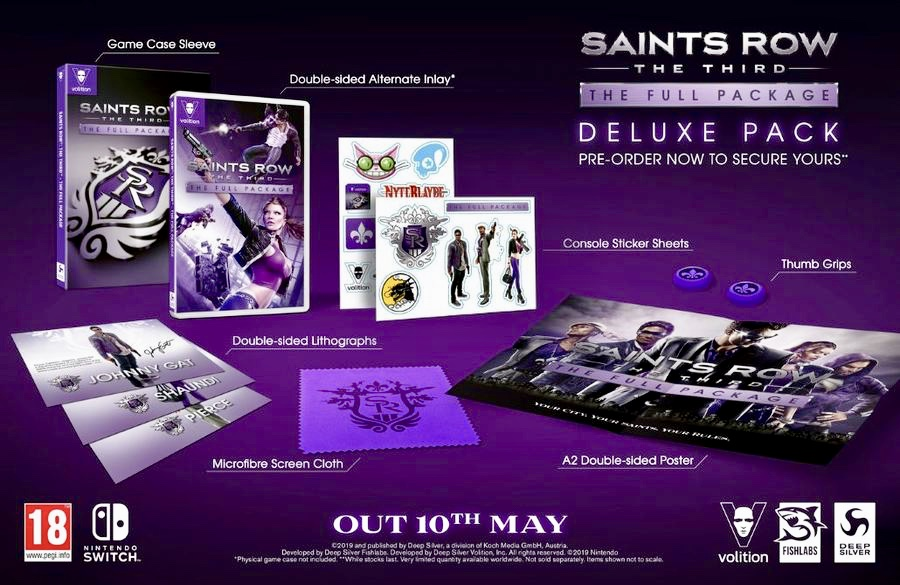 Saints Row The Third Switch Deluxe Edition