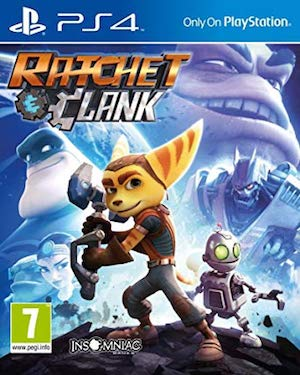Ratchet and Clank (2016) Box Art