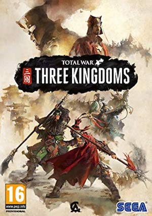 Total War: Three Kingdoms Box Art