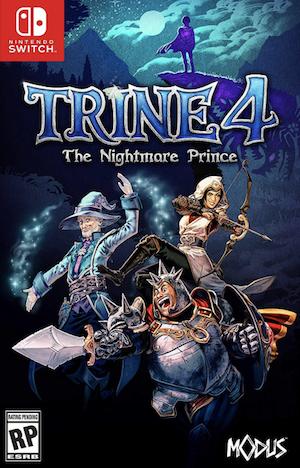 Trine 4: The Nightmare Prince Box Art