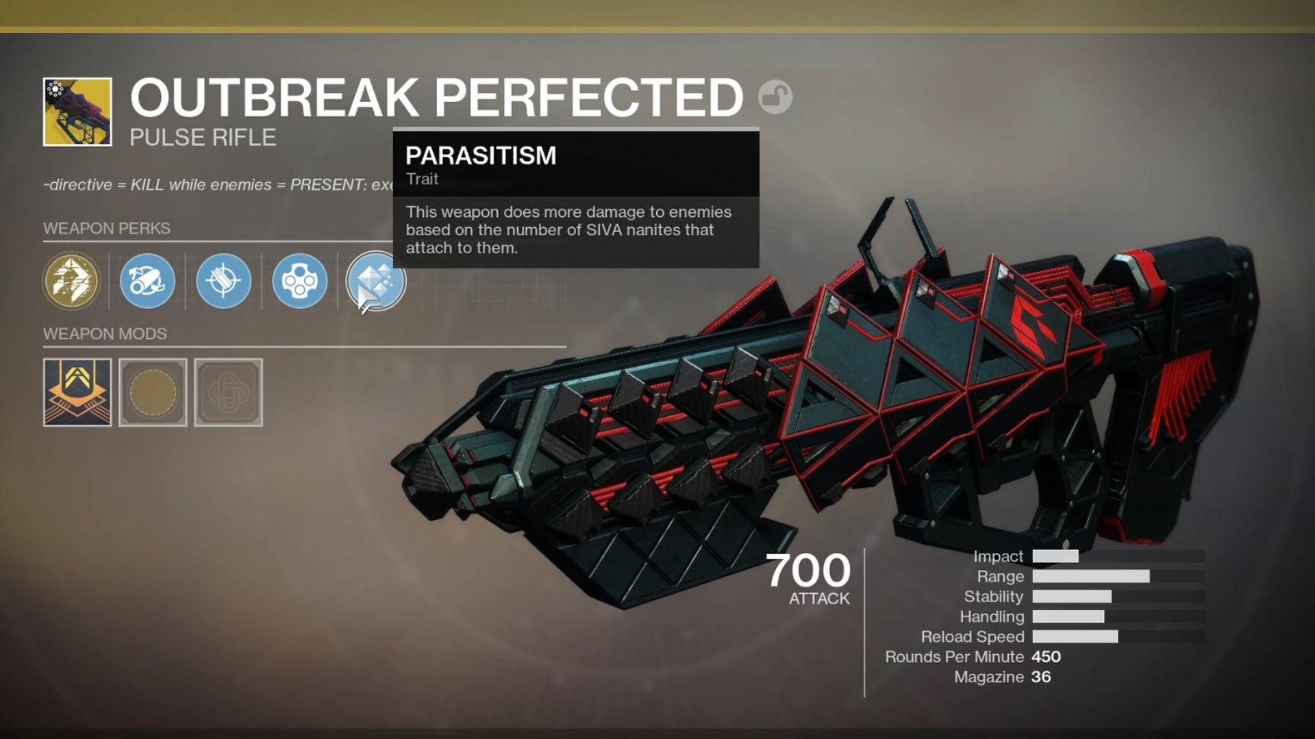Destiny 2 - Outbreak Perfected