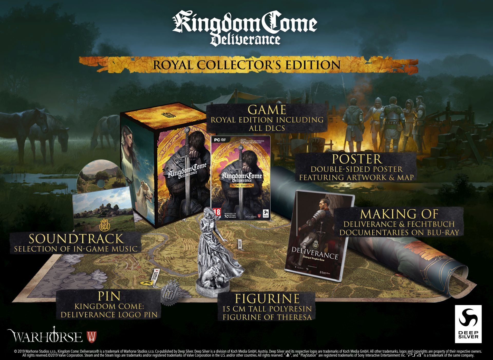 Kingdom Come Deliverance Royal Collector's Edition