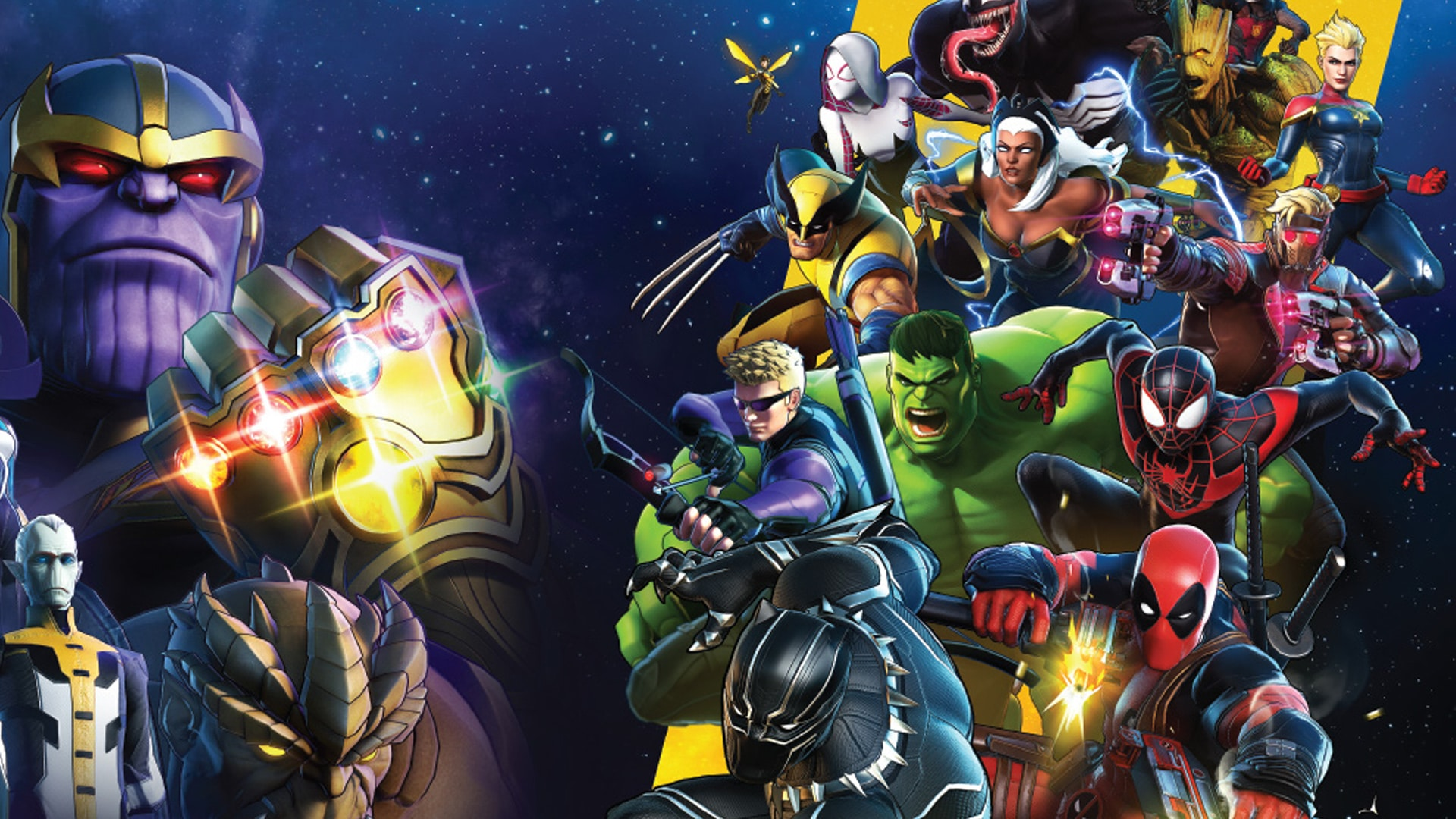 Marvel Ultimate Alliance 3: The Black Order in 9 new games in july