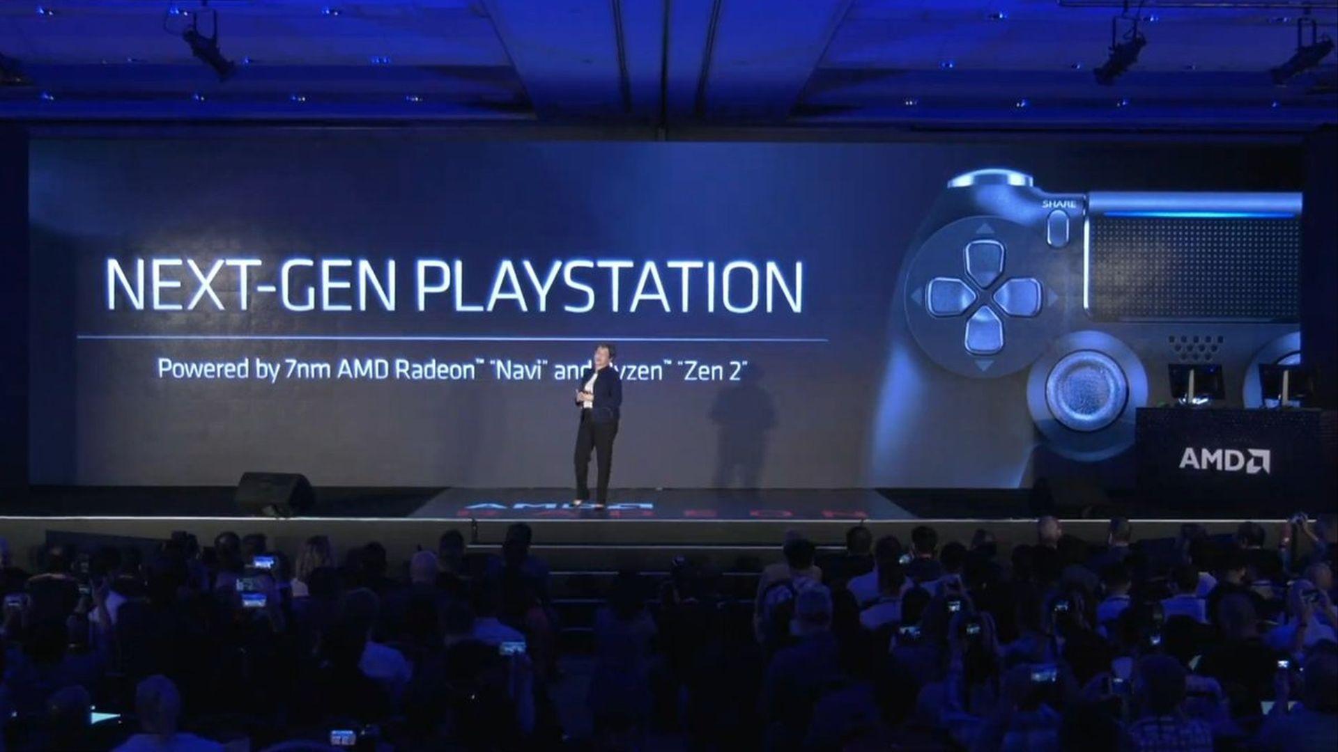 PS5_AMD Radeon Navi