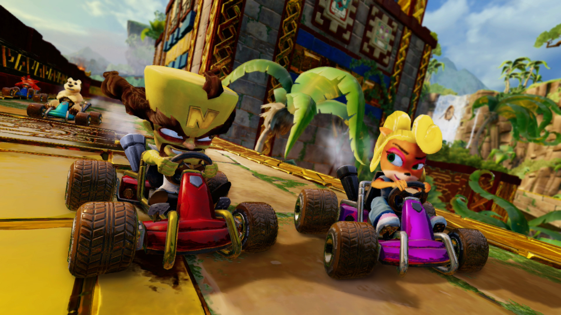 Crash Team Racing Nitro-Fueled – Back N  Time Grand Prix Coming