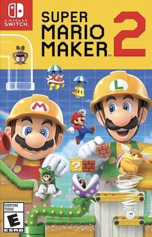 Super Mario Maker 2 Box Art