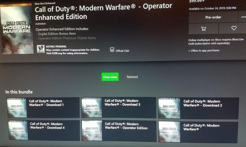 Call of Duty DLC