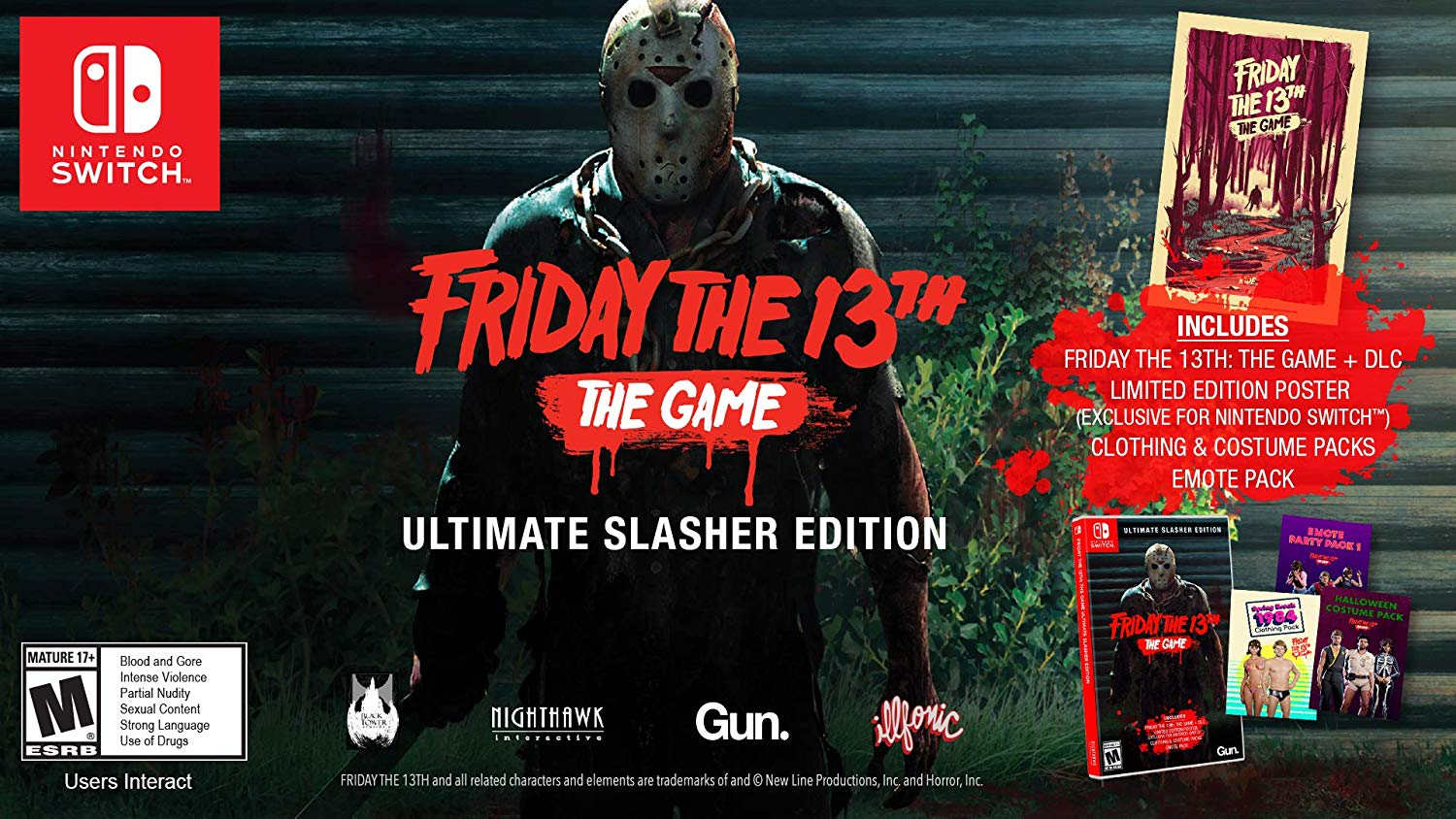 Friday The 13th Switch Edition