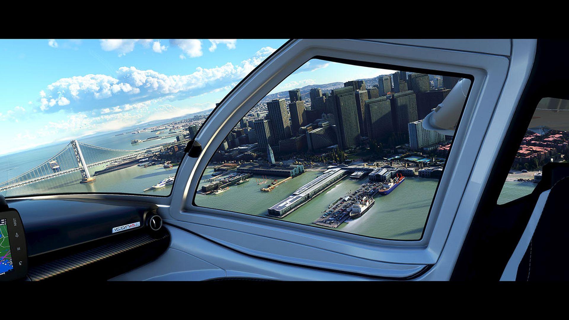 Microsoft's Flight Simulator