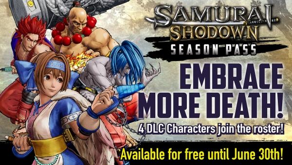 Samurai-Shodown_DLC characters