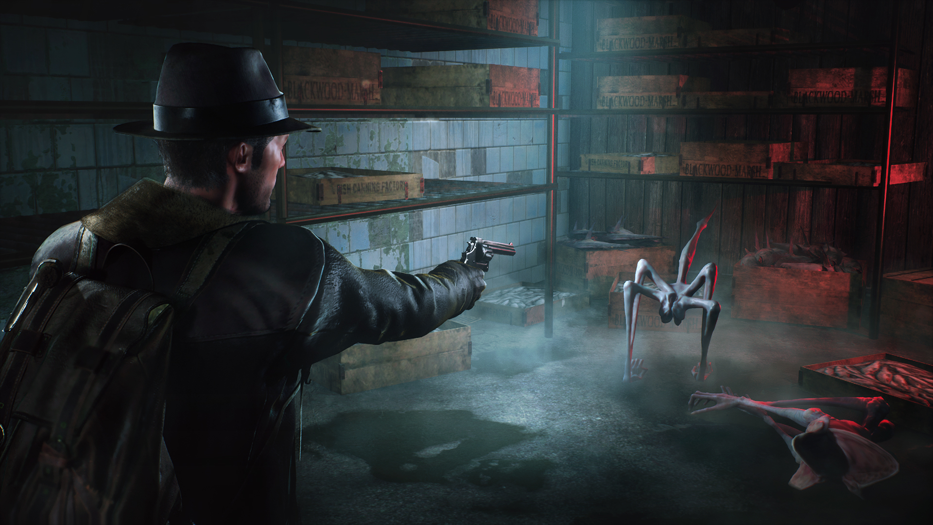 The Sinking City's Switch Version Includes Gyro Controls And Touchscreen  Functionality